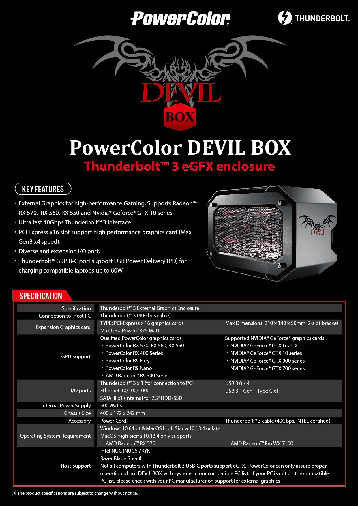 DEVIL BOX - PowerColor