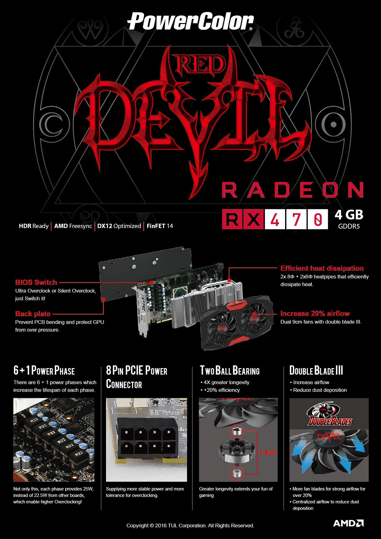 AXRX 470 4GBD5-3DH/OC - PowerColor