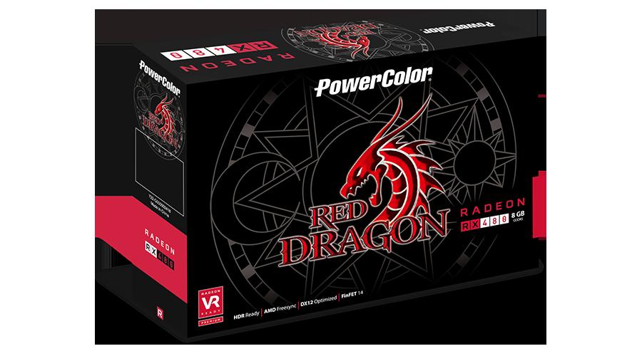 AXRX 480 8GBD5-3DHD - PowerColor