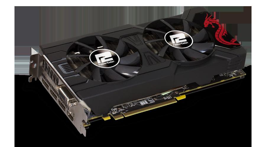 AXRX 570 8GBD5-3DHD/OC - PowerColor