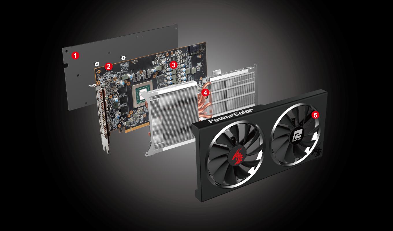 PowerColor Radeon RX 5600 XT 6GB GDDR6 14GBPS